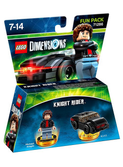 LEGO Dimensions Fun Pack (71286) - Knight Rider (Michael Knight, K.I.T.T.)