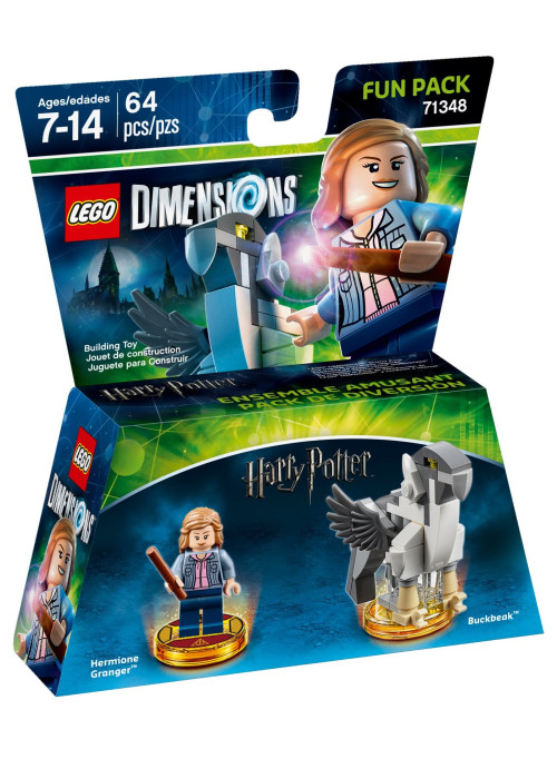 LEGO Dimensions Fun Pack (71348) - Harry Potter (Hermione Granger, Buckbeak)