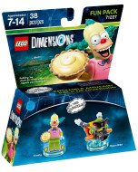 LEGO Dimensions Fun Pack (71227) - The Simpsons (Krusty, Clown Bike)