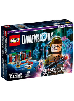LEGO Dimensions Story Pack (71242) - Ghostbusters (Zhu's Chinese Restaurant, Abby Yates, Ecto-1)