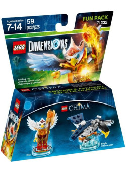 LEGO Dimensions Fun Pack (71232) - Lego Legend of Chima (Eris, Eagle Interceptor)