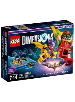 LEGO Dimensions Story Pack (71264) - Lego Batman Movie (Batgirl, Batwing, Robin, Bat-Computer)
