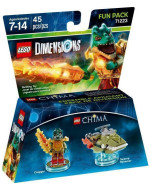 LEGO Dimensions Fun Pack (71223) - Lego Legend of Chima (Cragger, Swamp Skimmer)