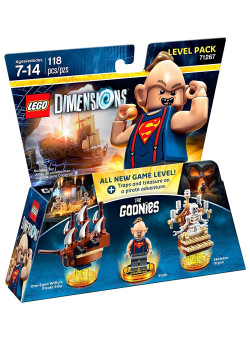 LEGO Dimensions Level Pack (71267) - The Goonies (One-Eyed Willy's Pirate Ship, Sloth, Skeleton Organ)