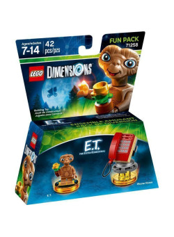 LEGO Dimensions Fun Pack (71258) - E.T. the Extra-Terrestrial (E.T., Phone Home)