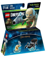 LEGO Dimensions Fun Pack (71218) - Lord of the Rings (Gollum, Shellob the Great)