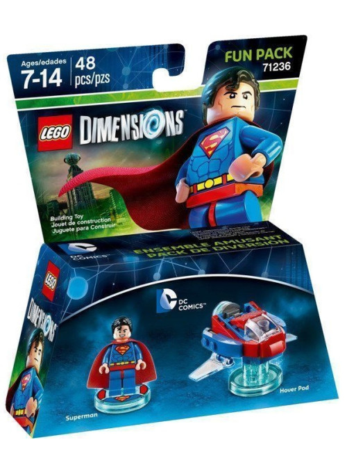 LEGO Dimensions Fun Pack (71236) - DC Comics (Superman, Hover Pod)