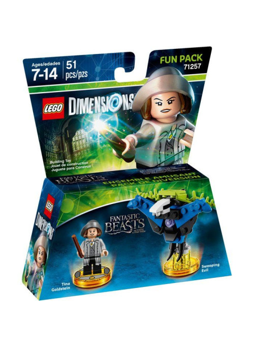 LEGO Dimensions Fun Pack (71257) - Fantastic Beasts and Where to Find Them (Tina Goldstein, Swooping Evil)
