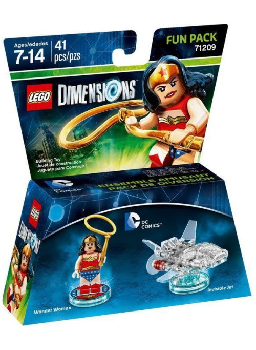 LEGO Dimensions Fun Pack (71209) - DC Comics (Womder Woman, Invisible Jet)