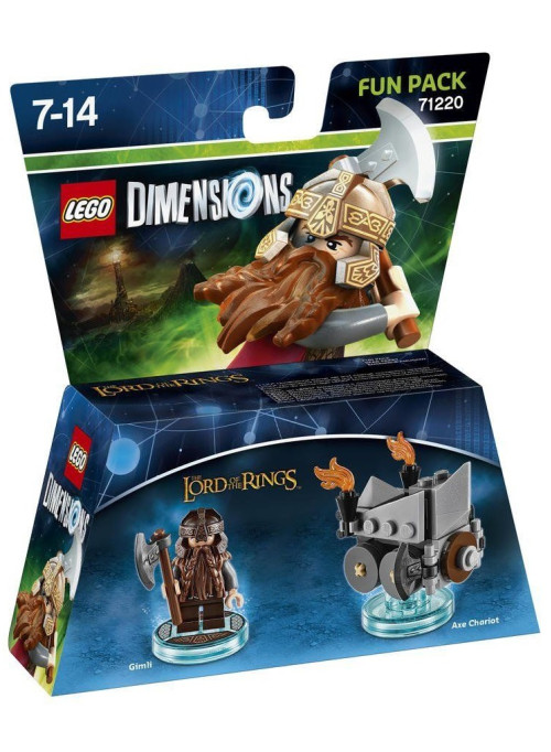 LEGO Dimensions Fun Pack (71220) - Lord of the Ring (Gimli, Axe Charlot)