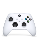 Геймпад беспроводной Microsoft Xbox One/Series X|S Wireless Controller Robot White (белый) (QAS-00002)